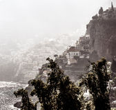 Picturesque Amalfi coast Stock Photography