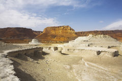 Picturesque ancient mountains and canyon. About the Dead Sea in Israel stock photos