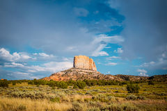 Picturesque arid plain of Arizona Royalty Free Stock Images