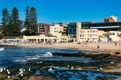 Picturesque Australian beach, Cronulla Royalty Free Stock Photos
