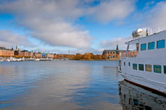 Picturesque autumn review Stockholm Royalty Free Stock Image