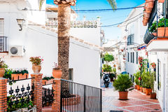 Picturesque backstreet of Rancho Domingo. Spain Royalty Free Stock Photos