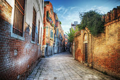 Picturesque backstreet in Venice Royalty Free Stock Photos