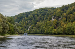 The picturesque banks of the Danube, Germany Stock Photography