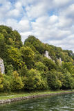 The picturesque banks of the Danube, Germany Stock Photo