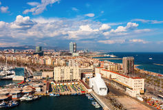 Picturesque Barcelona cityscape Royalty Free Stock Photography