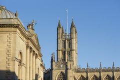 Picturesque Bath Stock Photography