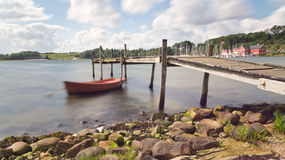 Picturesque bay Stock Images