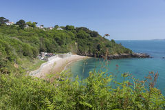 Picturesque bay on Guernsey island, UK Stock Photography