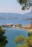 The picturesque bay in the Mediterranean. Stock Photography
