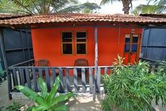 Picturesque beach houses, goa Stock Photo