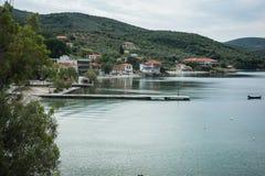 Picturesque beach of Potistika, Pelion, Greece Stock Photo