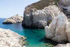 The picturesque beaches of Milos island, Cyclades, Greece Stock Photo