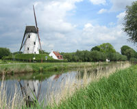 Picturesque Belgian Countryside stock photography