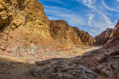 Picturesque Black canyon Stock Image