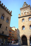 Picturesque buildings Bologna Italy Royalty Free Stock Photo
