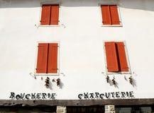 Picturesque butcher shop Stock Image