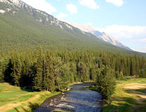 Picturesque Canadian Rockies, Alberta Royalty Free Stock Photography