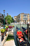 Picturesque Canal Grande in Venice Stock Photos
