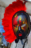 Picturesque carnival mask Venice Stock Images