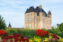 Picturesque castle in the Loire Valley in France Stock Images