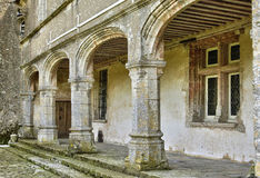 Picturesque castle of Talcy in Loir et Cher Royalty Free Stock Photos