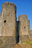 Picturesque castle of Villandraut in Gironde Stock Images