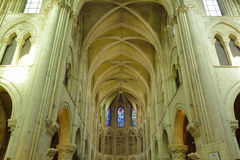 Picturesque cathedral of Lisieux in Normandie Royalty Free Stock Images