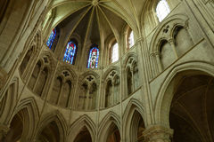Picturesque cathedral of Lisieux in Normandie Stock Photo