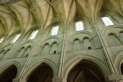 Picturesque cathedral of Lisieux in Normandie Royalty Free Stock Photos