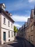 Picturesque Cirencester`s quaint old streets. Quaint and historic buildings line the streets in the older parts of Cirencester, Gloucestershire, UK Royalty Free Stock Photos