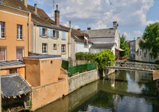 Picturesque city of Dreux in Eure et Loir Stock Photography