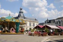 Picturesque city of Dreux in Eure et Loir Stock Photography