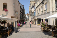 Picturesque city of Dreux in Eure et Loir Royalty Free Stock Image