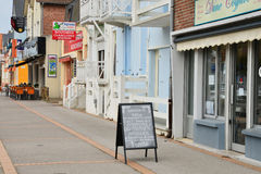 Picturesque city of Fort Mahon Plage Stock Photos