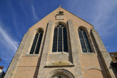 Picturesque city of Gallardon in Eure et Loir Royalty Free Stock Photos
