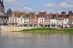 Picturesque city of Gien in Loiret. France, the picturesque city of Gien in Loiret Royalty Free Stock Photography