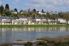 Picturesque city of Gien in Loiret Stock Photography