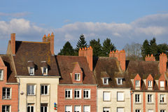 Picturesque city of Gien in Loiret Royalty Free Stock Photography