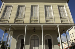 Picturesque city hall of Saint Pierre in Martinique Royalty Free Stock Images