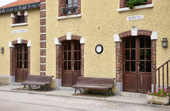 Picturesque city of Le Crotoy in Somme Stock Photos