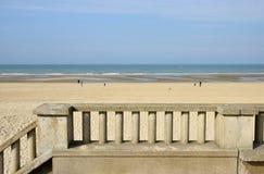 Picturesque city of Stella Plage in  Nord Pas de Calais Stock Photo