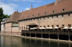 Picturesque city of Strasbourg in Alsace Royalty Free Stock Images