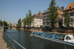 Picturesque city of Strasbourg in Alsace Royalty Free Stock Photos