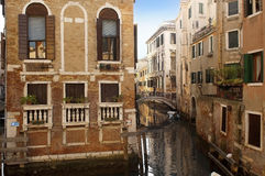 Picturesque cityscape of Venice Royalty Free Stock Image