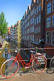 Picturesque cityscapes of Amsterdam. Picturesque cityscapes in the red-light district of Amsterdam. Amsterdam is the capital and most populous city of the royalty free stock images