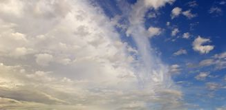 Picturesque clouds Royalty Free Stock Photos