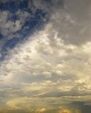 Picturesque clouds. Before a thunderstorm in July Stock Image