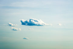 Picturesque clouds in the afternoon Royalty Free Stock Photos