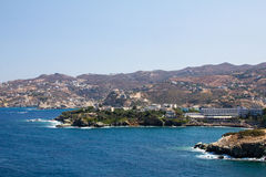The picturesque coast of Crete. Royalty Free Stock Photography